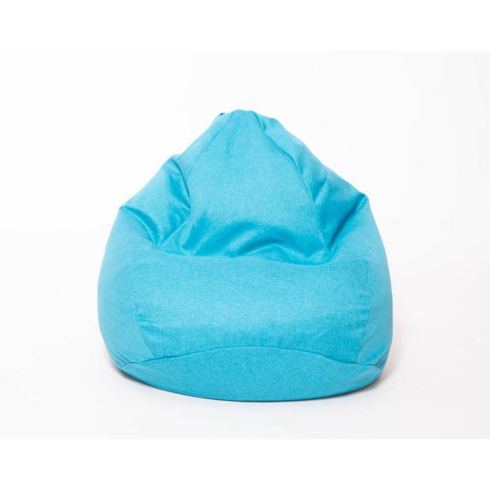 Кресло-мешок «Юниор», диаметр 75 см, высота 100 см, цвет бирюзовый