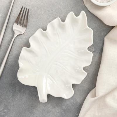 Блюдо «Лист», 20×14×2,5 см - Фото 1