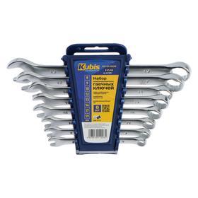 Ключи комбинированные KUBIS 03-01-1008, 8-19 мм, 8 предметов
