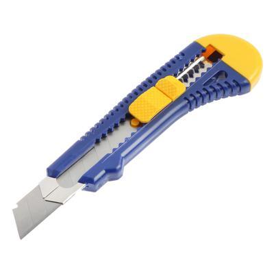 Нож усиленный KUBIS 04-03-0218, выдвижное лезвие, 18 мм, Eco - Фото 1