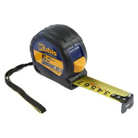 Рулетка KUBIS 05-01-0525, 5 м х 25 мм, PushLock