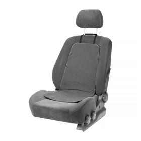 Подогрев сидений Cartage, со спинкой, 2 режима нагрева, 12 В, 30/50 Вт,40х80 см, греющий жгут - нити MicroHEAT Ош