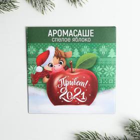 Аромасаше в конверте «Привет 2021!», яблоко Ош