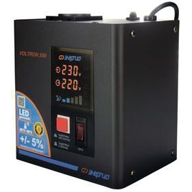 Стабилизатор напряжения однофазный Энергия Voltron 500 ВА, точность ±5%