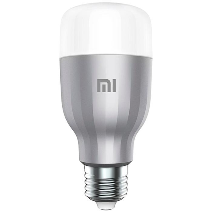 Умная лампа Xiaomi Mi LED Smart Bulb E27 10Вт 800lm Wi-Fi RGB+W