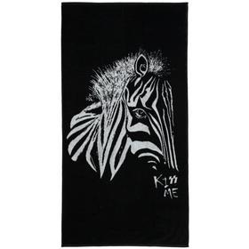 Полотенце «Арт-рокстар. Kiss Me», размер 70x140 см