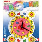 Чс-002 Часы на пластике «Хоровод сердец»