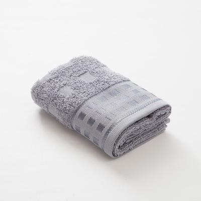 Полотенце махровое LoveLife Square 30*60 см, цв. пепельно-серый,100% хл, 360 гр/м2 - Фото 1