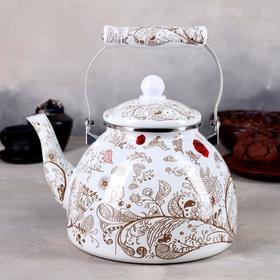 Чайник эмалированный «Чудесница. Весна», 4 л