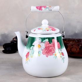 Чайник эмалированный «Чудесница. Цветение», 5 л