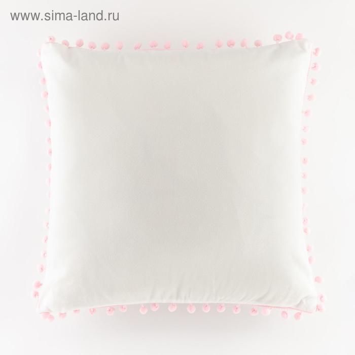 Наволочка декоративная Крошка Я «Фламинго» 42 х 42±3см