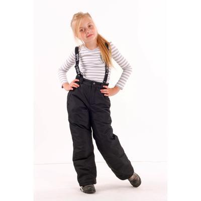 Брюки детские «Техно», рост 164 см, цвет тёмно-серый