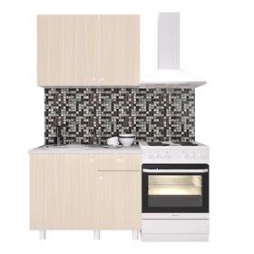 Кухонный гарнитур «Поинт», 1 м, ЛДСП, столешница «Антарес» 28 мм, без мойки, цвет феррара Ош