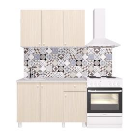 Кухонный гарнитур «Поинт», 1,2 м, ЛДСП, столешница «Антарес» 28 мм, без мойки, цвет феррара   536185 Ош