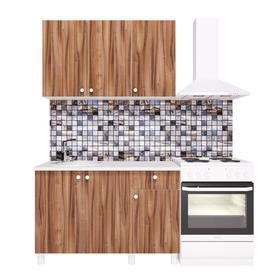 Кухонный гарнитур «Поинт», 1,2 м, ЛДСП, столешница «Антарес» 28 мм, без мойки, цвет тьеполо   536185 Ош
