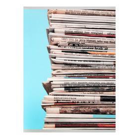 """Тетрадь А4, 80 листов в клетку """"Новости"""", обложка мелованный картон, блок офсет"""