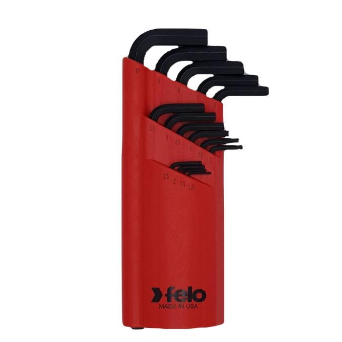Набор ключей шестигранных Felo 35515001, с шаровым окончанием, 1.27-10 мм, 15 шт