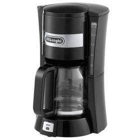 Кофеварка DeLonghi ICM 15210.1, капельная, 900 Вт, 1.25 л, 10 чашек, чёрная
