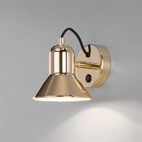 Светильник Canotier, 1x25Вт E27, цвет золото