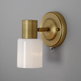 Светильник Corso, 1x40Вт E27, цвет бронза