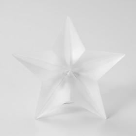 Ночник 'Звезда' LED от батареек белый 8,5х9х3,5 см Ош