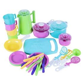 Набор посуды Iriska 6, 38 предметов, МИКС