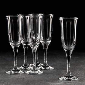 Набор бокалов для шампанского «Далида», 210 мл, 6 шт