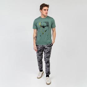 Брюки мужские «Ратмир» цвет камуфляж, размер 52 Ош