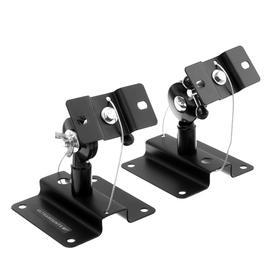 Кронштейн Ultramounts UM502, для аудио-видео аппаратуры, наклонно-поворотный.до 15 кг,чёрный Ош