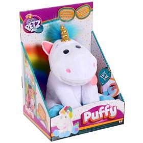 Игрушка интерактивная «Единорог Puffy» со звуковыми эффектами