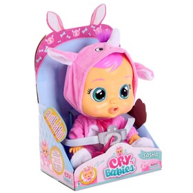 Кукла интерактивная «Плачущий младенец Sasha», 31см