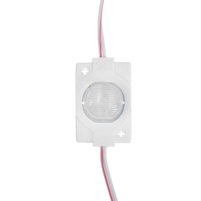 Cветодиодный модуль для торцевой засветки, 1,5 Вт, 130 Лм, IP65, 12 V БЕЛЫЙ