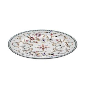 Тарелка десертная, 19 см, твёрдый фарфор
