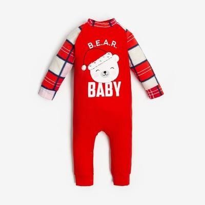 "Комбинезон Крошка Я ""Bear"", рост 62-68 см - Фото 1"