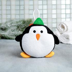 "Мочалка фигурная ""Пингвин"""