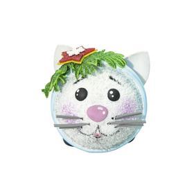 Новогодний шар из фоамирана «Котёнок Пушок»