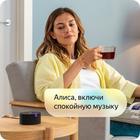 "Умная колонка ""Яндекс.Станция мини"", голосовой помощник Алиса, 3 Вт, Wi-Fi, BT 4.2, черная - Фото 9"
