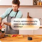 "Умная колонка ""Яндекс.Станция мини"", голосовой помощник Алиса, 3 Вт, Wi-Fi, BT 4.2, черная - Фото 10"