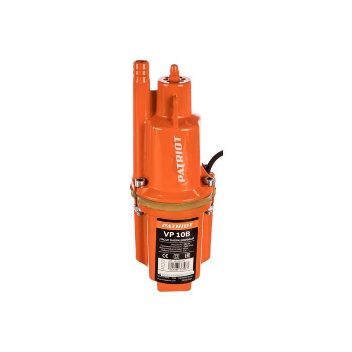 Насос вибрационный PATRIOT VP-10B, 250 Вт, 18 лмин, напор 60 м, кабель 10 м