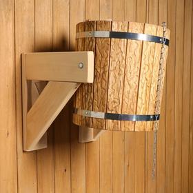 Обливное устройство 'Русский душ', 13л, пластиковая вставка, состаренное Ош