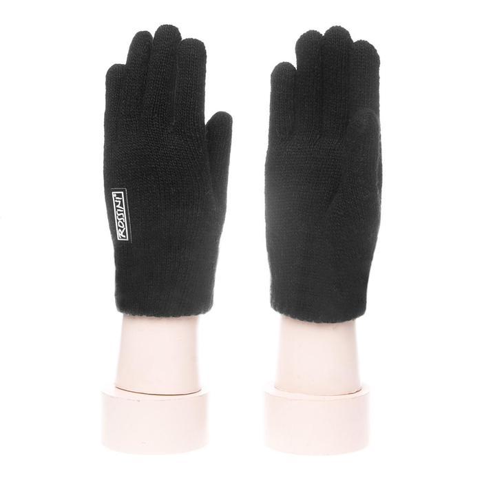 Перчатки мужские S 216-XL цвет чёрный, р-р 24*8*10