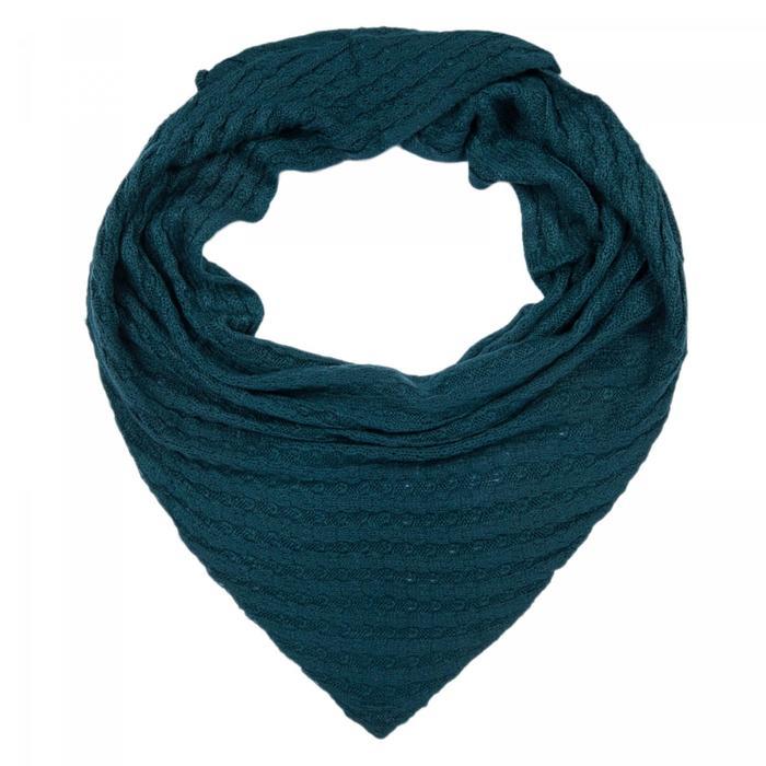 Шарф женский SD370_B97 цвет синий, р-р 60140