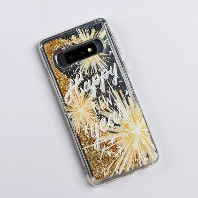 Чехол - шейкер для телефона Samsung S10 «Счастливого года», 7,04 х 15,0 см - Фото 1