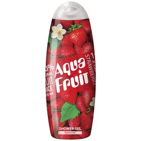 Гель для душа Aquafruit Strawberry sensitive, 420 мл