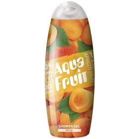 Гель для душа Aquafruit Apricot fruit relax, 420 мл