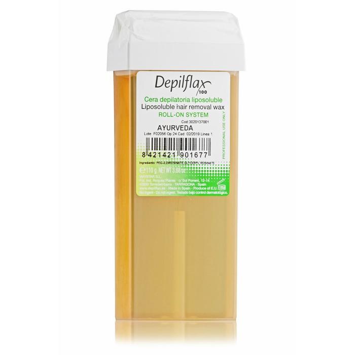 Воск для депиляции Depilflax100, аюрведа, 110 г