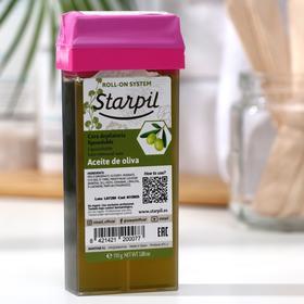 Воск для депиляции Starpil, оливковый, 110 г