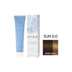 Крем-краситель для окрашивания волос Cutrin Sun Aurora Demi Permanent Brightening, тон 0.0 солнечный свет, 60 мл