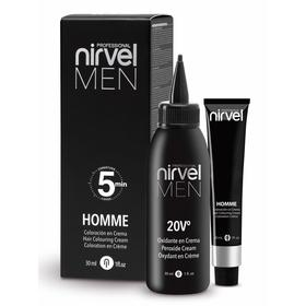 Комплект для окрашивания волос Nirvel Professional, тон G7 светло-серый homme, 2 шт. по 30 мл