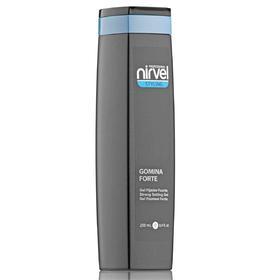 Гель сильной фиксации Nirvel Professional Gomina forte, эффект мокрых волос, 250 мл